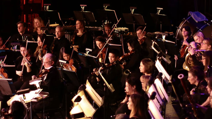The Pennsylvania Philharmonic during a recent performance