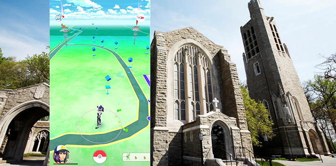 Catch 'Em All at Washington Memorial Chapel
