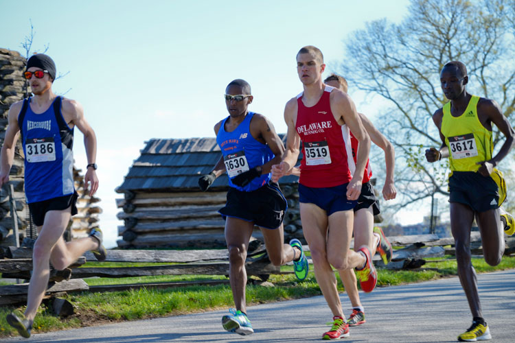The Valley Forge Revolutionary 5-Mile Run® takes runners through the park's history.