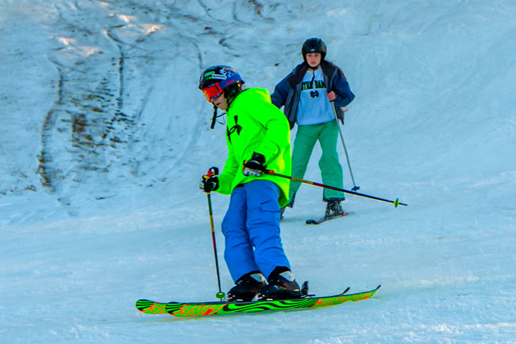 Spring Mountain will have a fresh coating of snow for skiiers if the forecast is correct.
