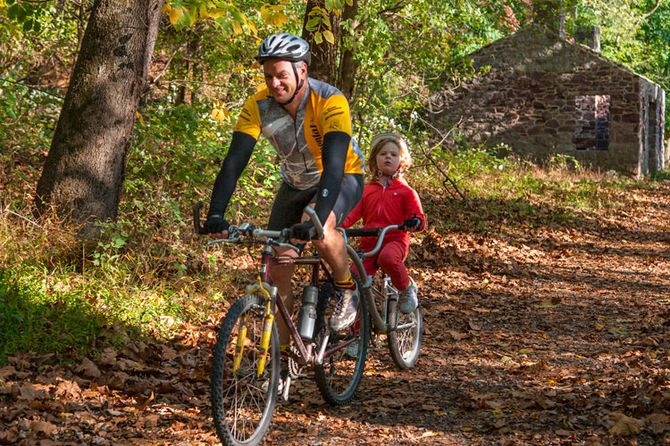 Montco is home to 91 miles of tree-lined trails to explore this fall