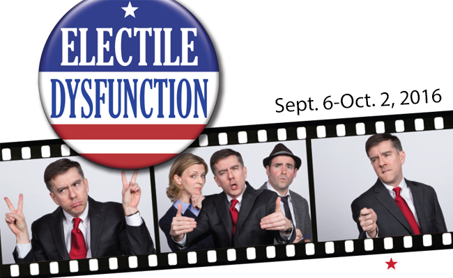 Presidential impressions, man on the street interviews, and more at Act II Playhouse