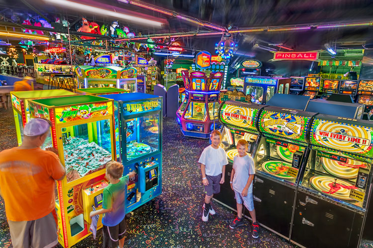 Bring the kids to Arnold's Family Fun Center for its All-American Labor Day Weekend.