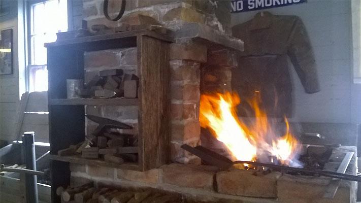 Blacksmithing demonstrations return to the Boyertown Museum this Saturday.