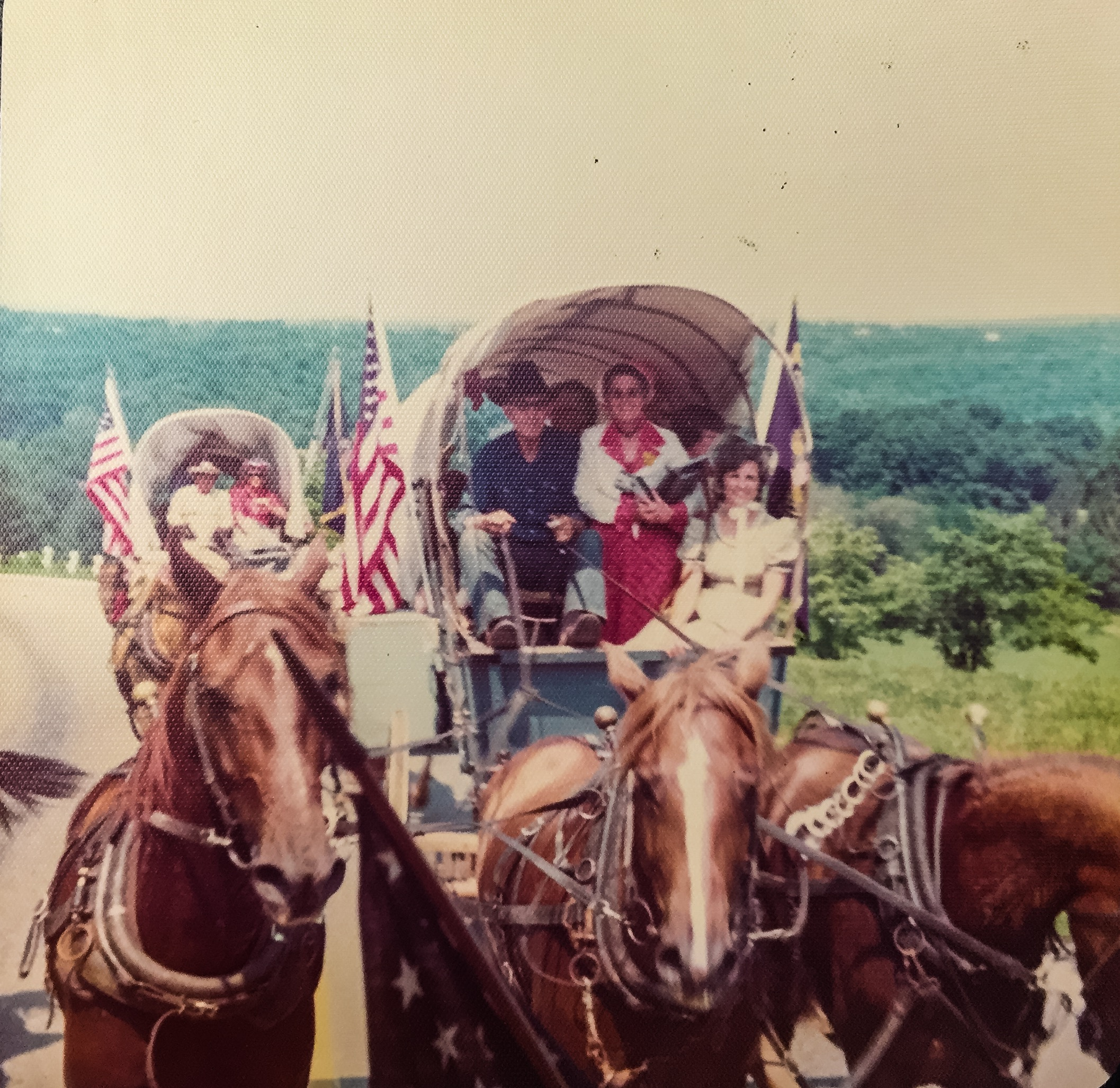 Celebrating ~and Making~ History in a Bicentennial Wagon | July 3, 1976