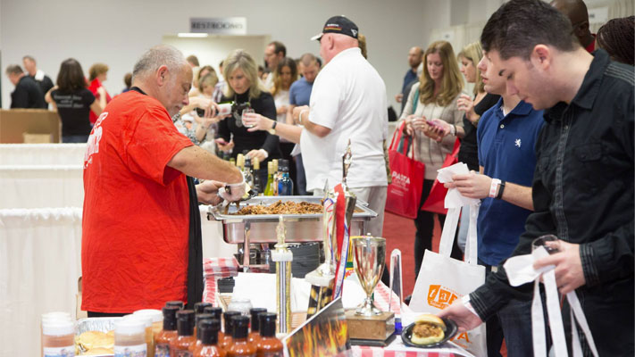 The Philadelphia Festival of Food, Wine and Spirits stops at Valley Forge Casino Resort this weekend.