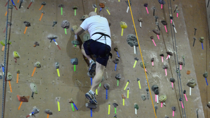 Can you reach the top at the Philadelphia Rock Gym?