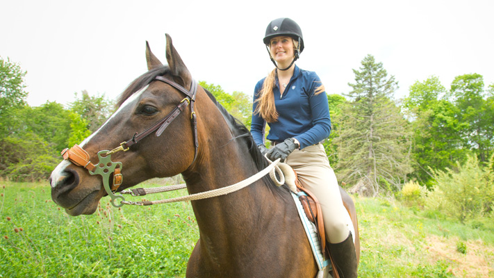 Sit up in the saddle and experience Montgomery County by horseback.