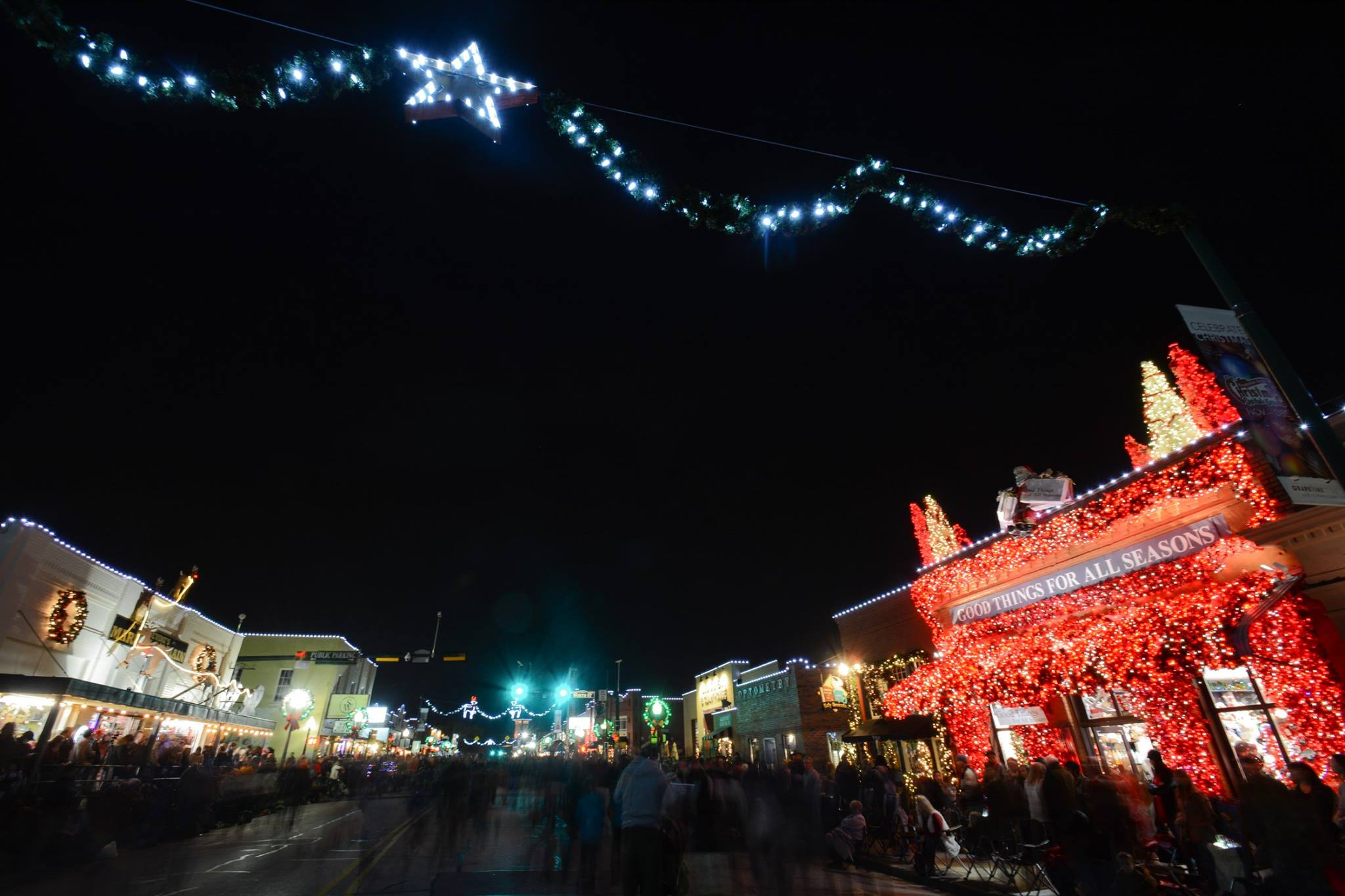 Lights Shine Brightly Across the Christmas Capital of Texas