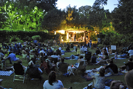don't miss grapevine's Sunset Concert Series