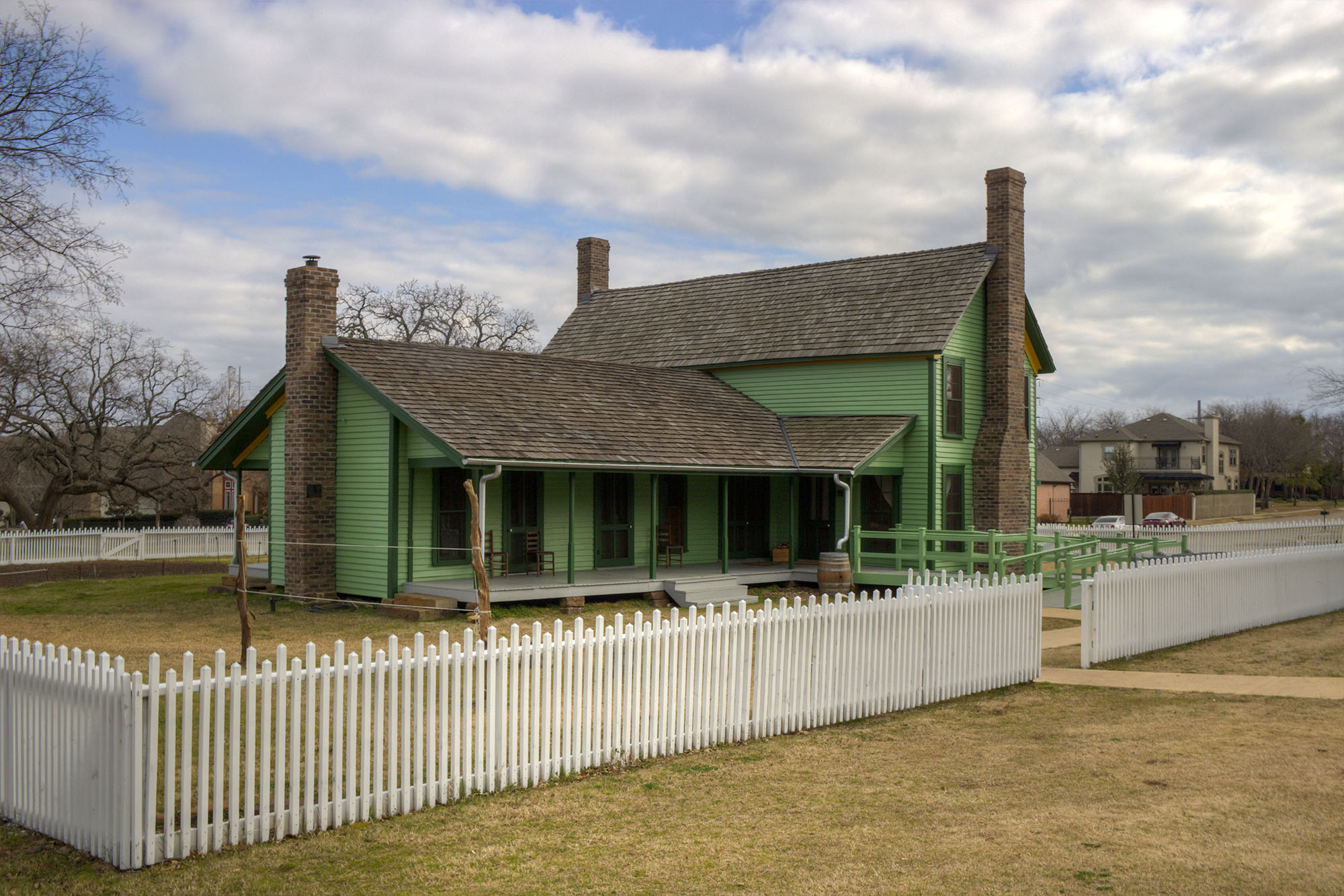 A View of Historic Nash Farm in Grapevine