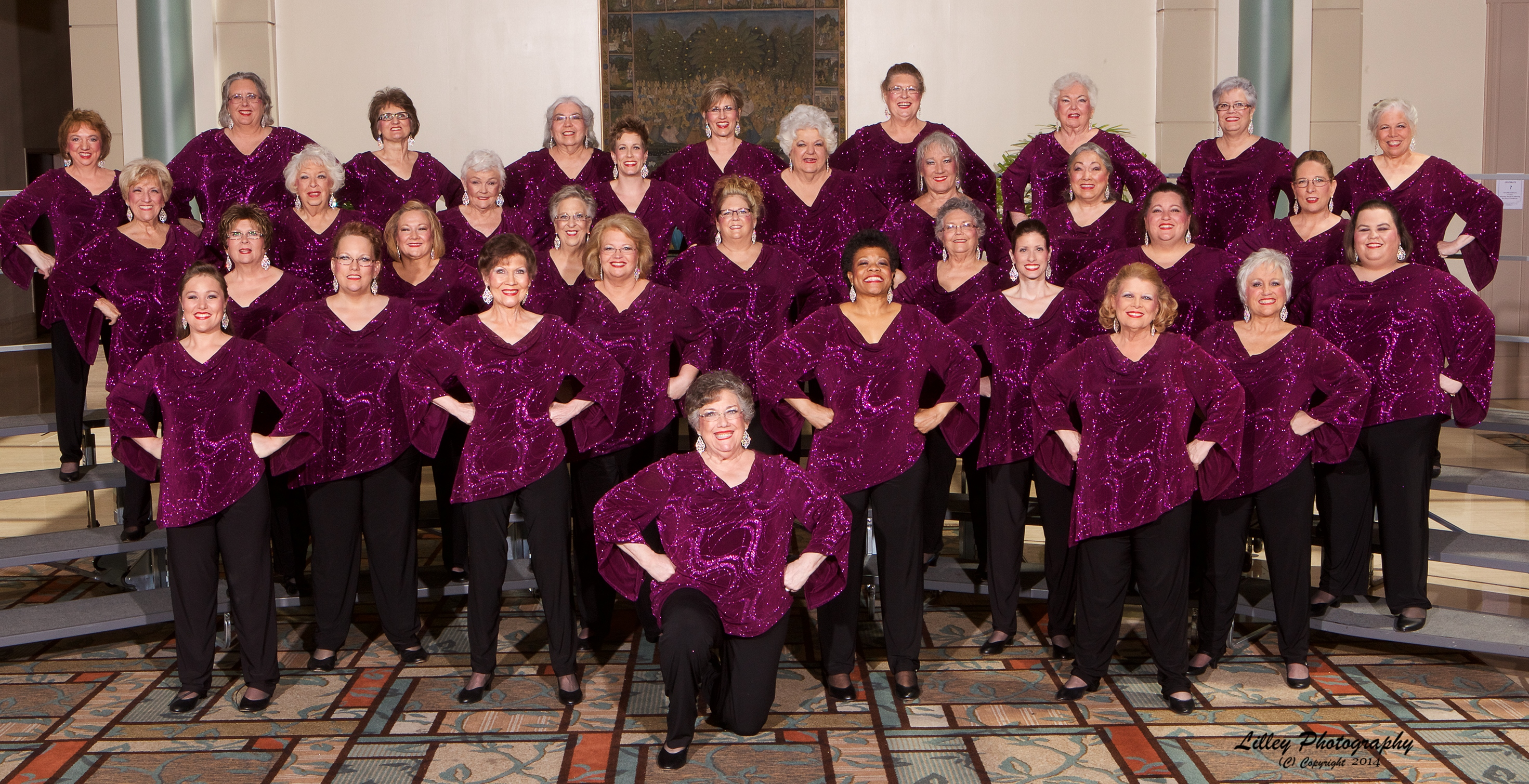 See the Texas Harmony Chorus in Grapevine