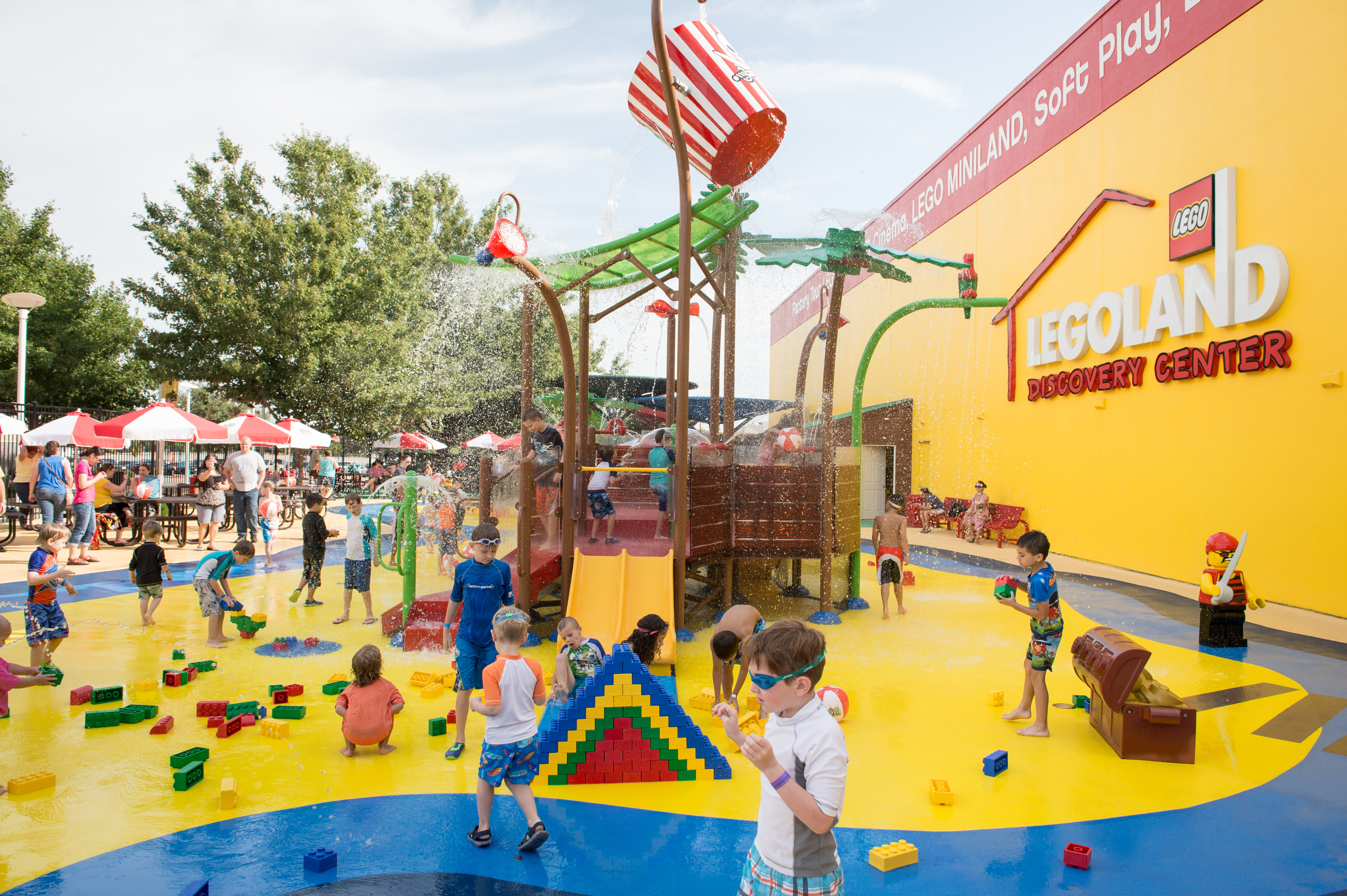 Summer Fun at Pirate Beach in Grapevine