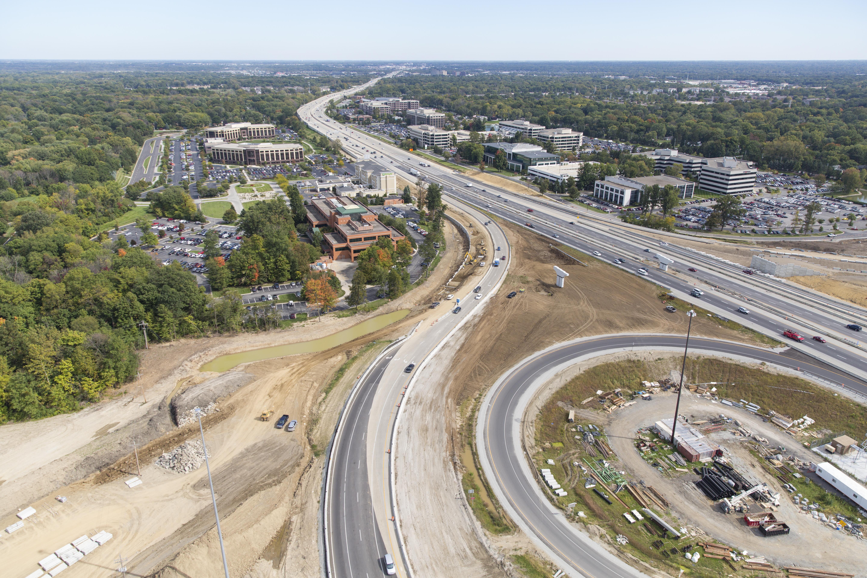 Hamilton County Road Construction US I I - Us 31 highway map