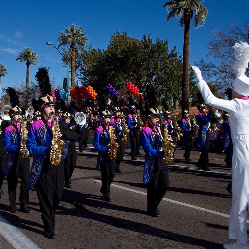 Fiesta Bowl Parade - Social Media