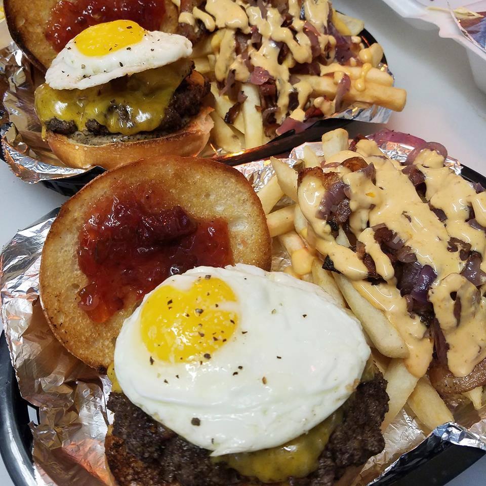 Yellow City Street Food Burger