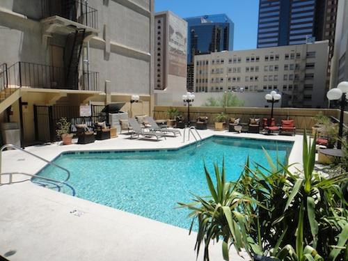 Hotel San Carlos pool