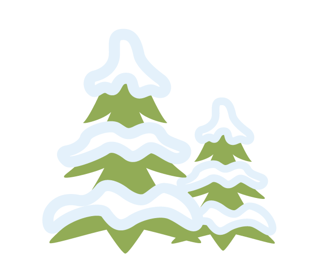 Trees 7 Sledding Hills graphic