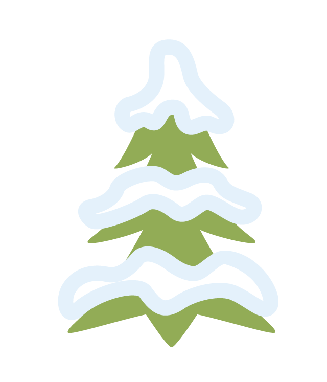 Tree 7 Sledding Hills graphic