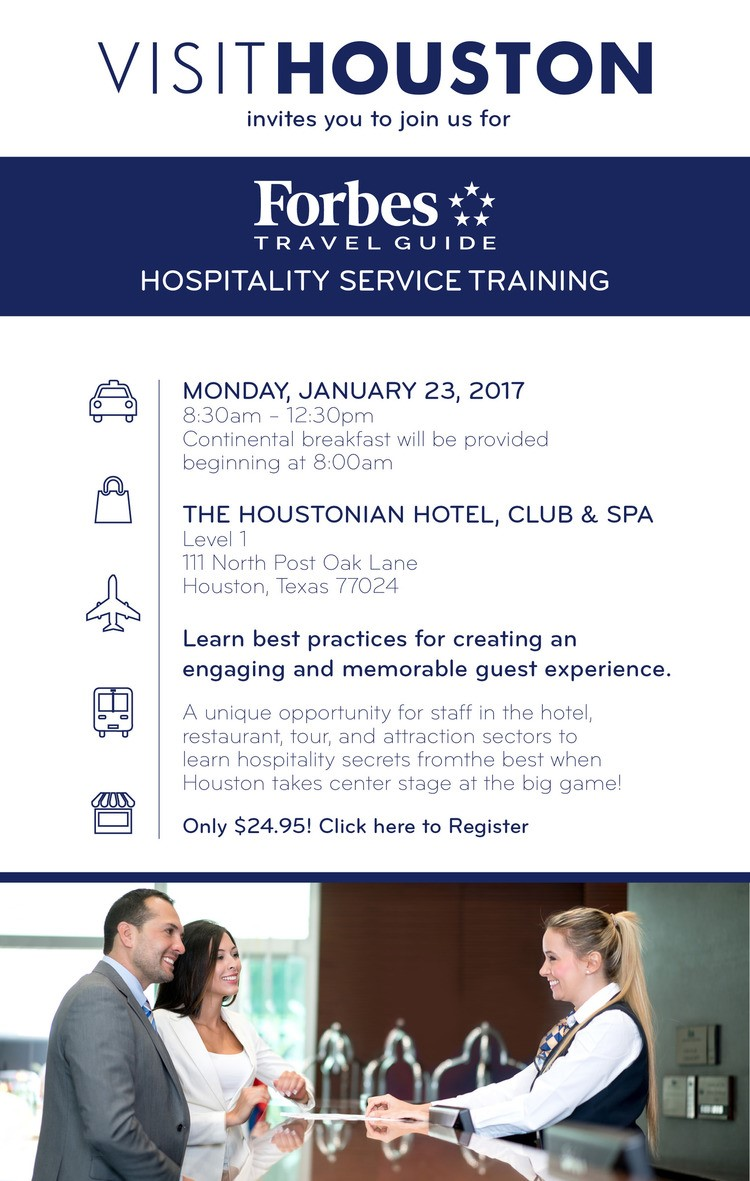 Forbes Travel Guide Hospitality Service Training