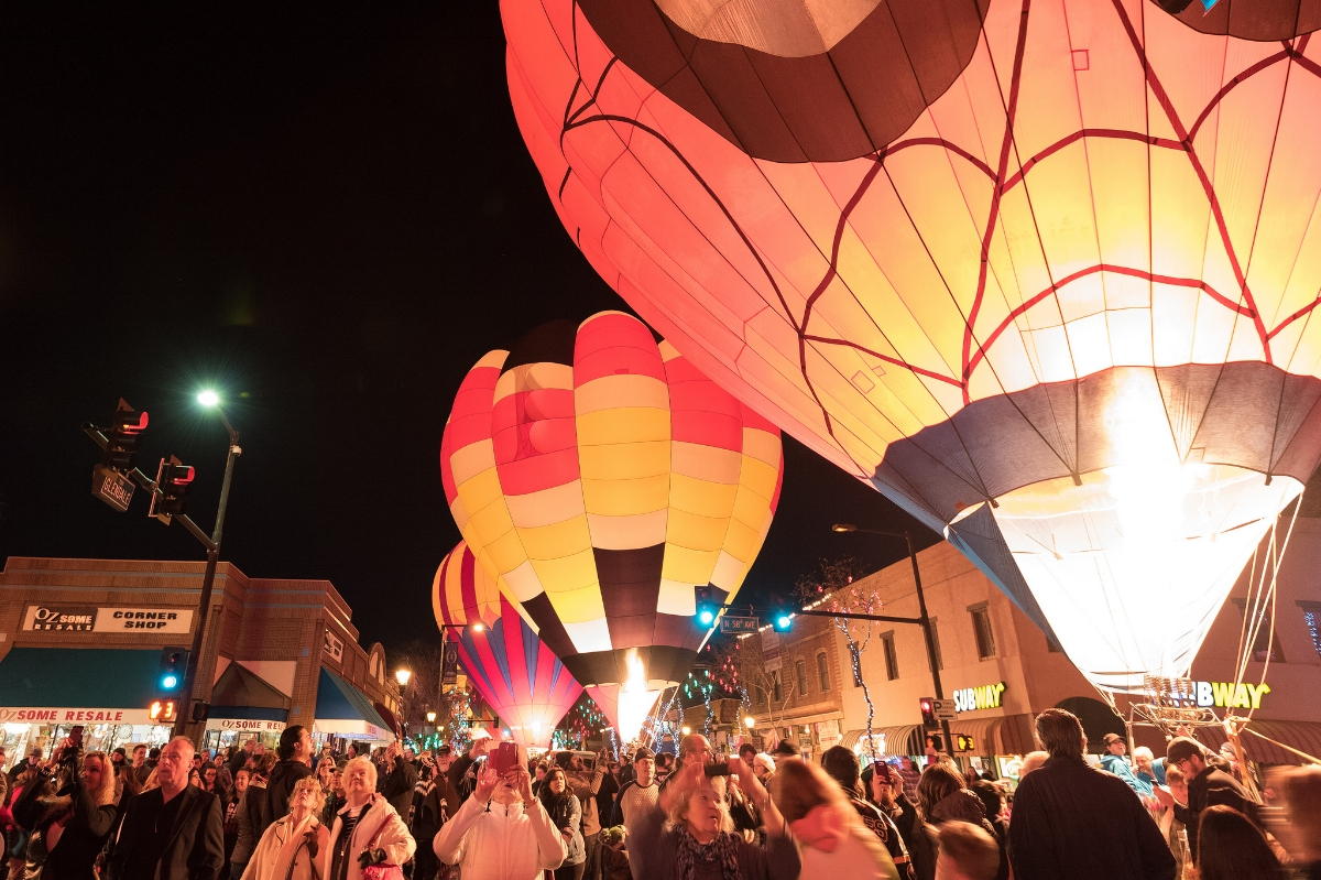 Glendale Glitter and Glow Block Party