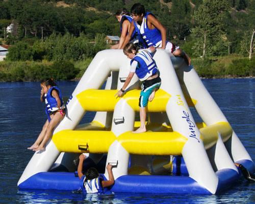 Morse Aqua Adventure Park Climing