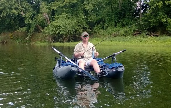 Al Patterson All IN- son on White River