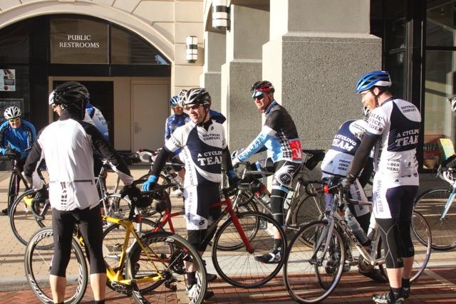 Bike Line Group Ride