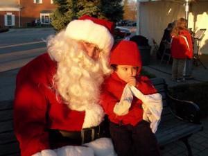 Santa & Baby