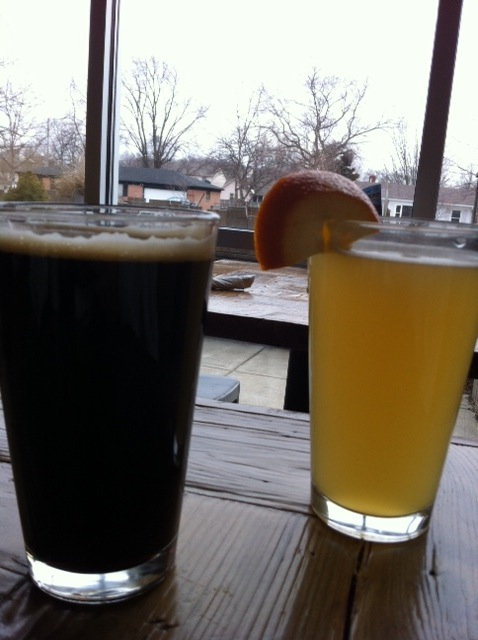 Upland Tap Room Carmel- beers