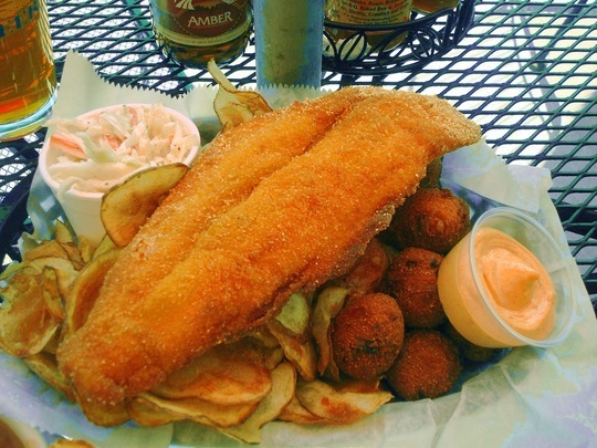 Catfish at Mudbugs