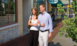 Carmel Arts & Design couple walking