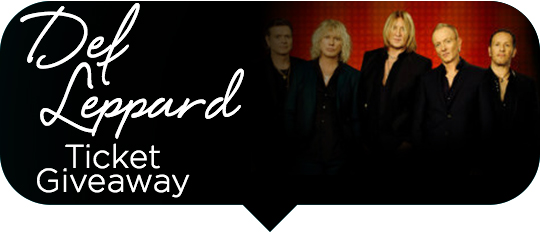 Def Leppard Giveaway