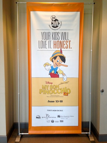 My Son Pinocchio Jr. banner