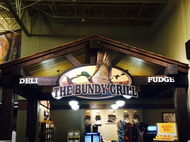 Bundy Grill at Cabela's
