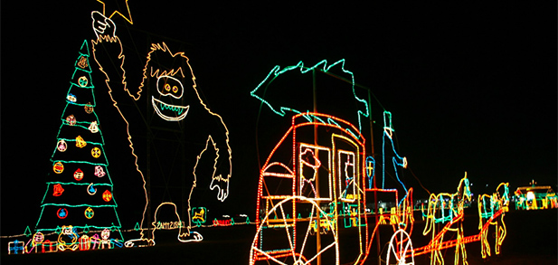 Reynolds Light Display