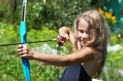 Koteewi Archery Girl Shooting