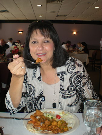 Tania Castroverde Moskalenko at Amber Indian for All-IN