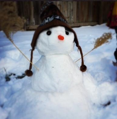 Caroline snowman