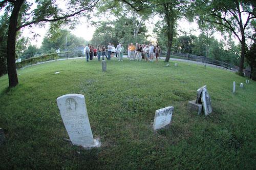 Westfield Ghost Walk Cemetery
