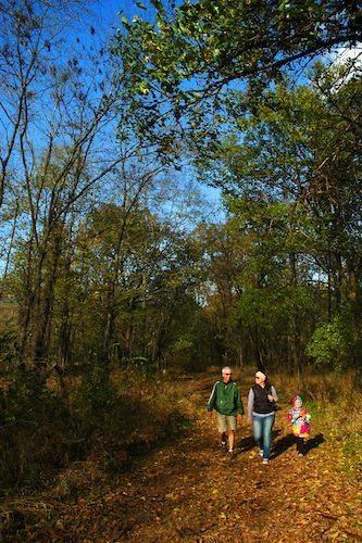 Strawtown Hiking Family