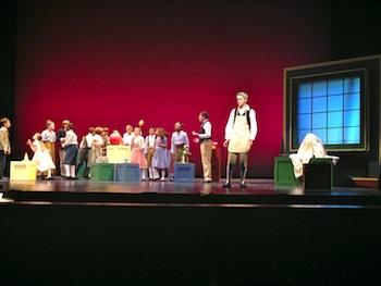 My Son Pinocchio Jr. stage