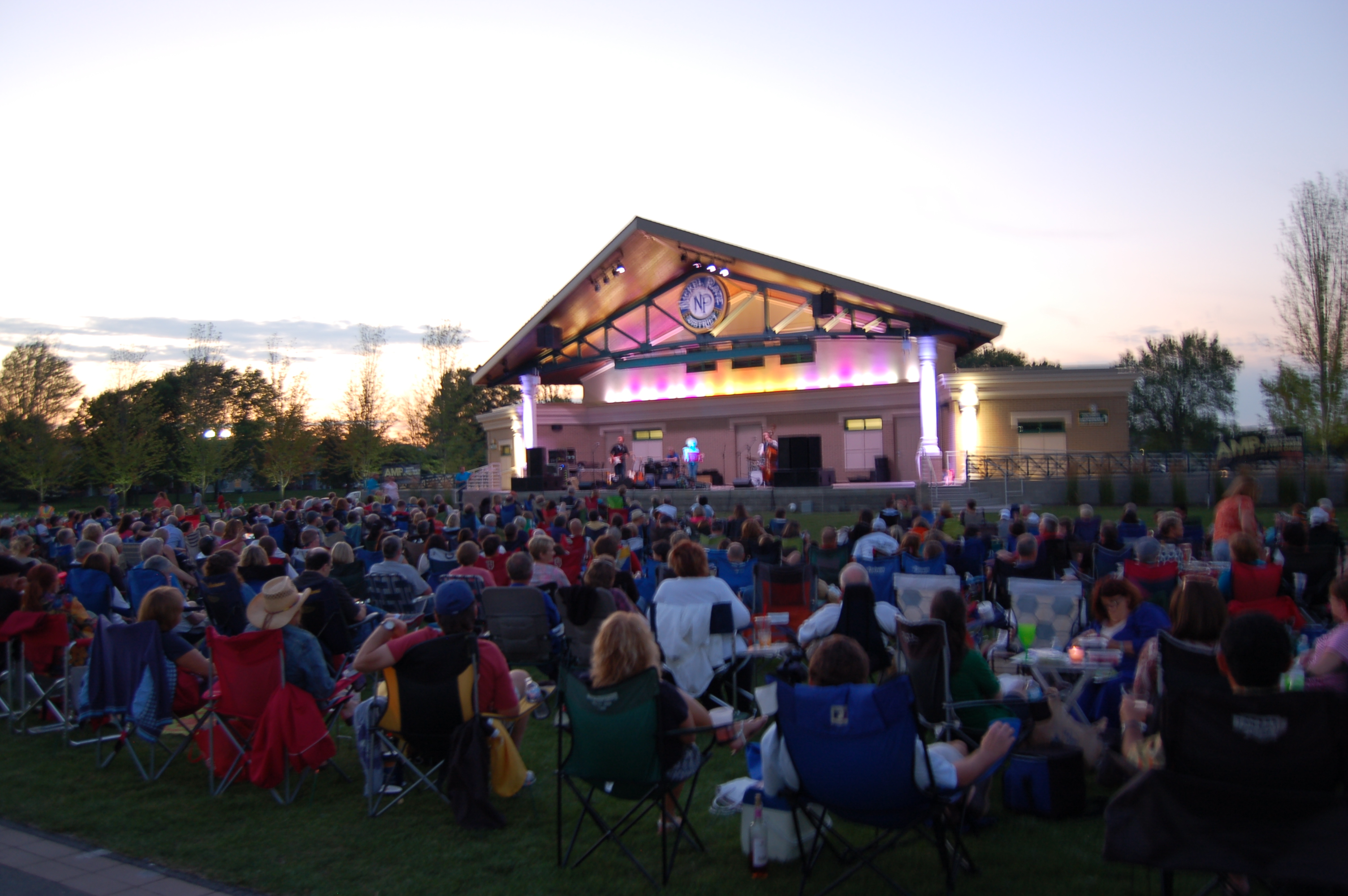 Nickel Plate District Amphitheater