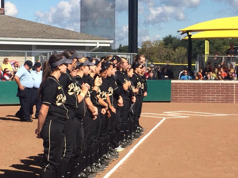 Purdue Softball at GP