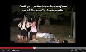 Shakespeare in the Park Video