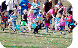 Forest Pk Egg Hunt