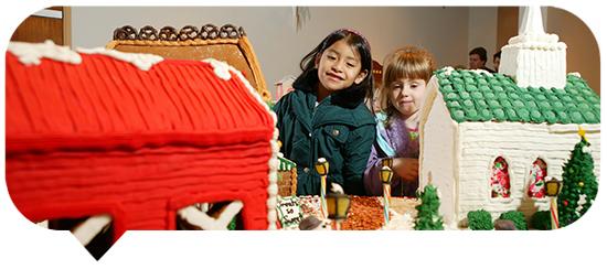 Gingerbread Village blurb