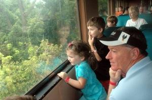Riding Train - Anderson Family