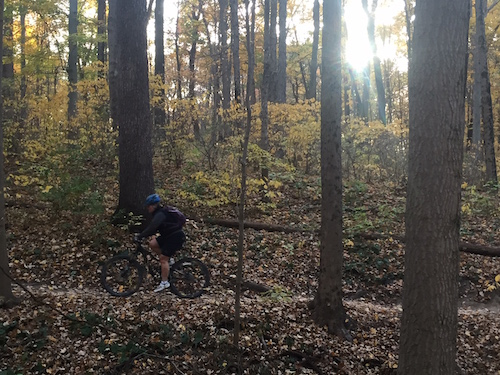 Fall bike ride- robert