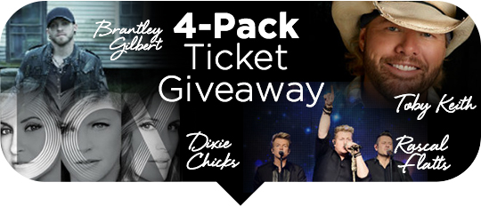 Four pack giveaway